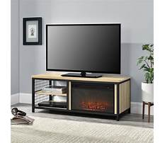 Oak tv stand with mount Plan