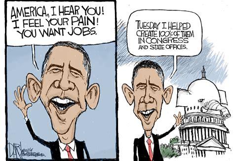 Obama Political Cartoons
