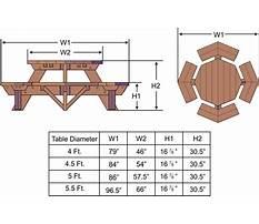 Octagonal picnic table plans.aspx Plan