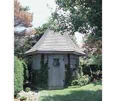 Old english garden sheds Plan