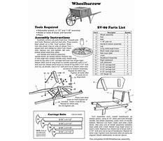 Old fashioned wheelbarrow wheels Plan