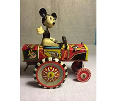 Old mickey mouse toy box Plan