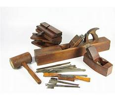 Old woodworking tools value Plan