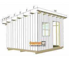 Open shed plans.aspx Plan