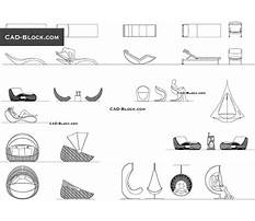 Outdoor furniture cad drawings Plan