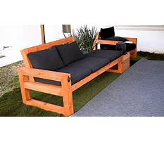 Outdoor furniture patio Plan