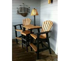 Outdoor furniture table and chair sets Plan