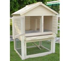 Outdoor hutches Plan