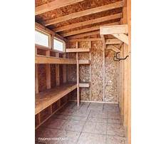 Outdoor kayak storage shed.aspx Plan