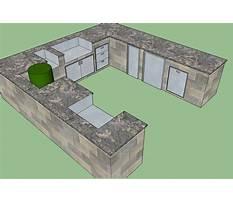 Outdoor kitchen designs software Plan
