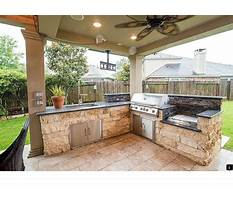 Outdoor kitchens contractors near me Plan