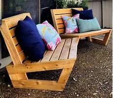 Outdoor modern patio furniture Plan