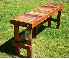Outdoor pub tables wood Plan