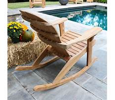 Outdoor rocking chairs clearance Plan