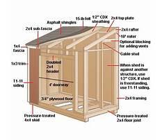 Outdoor storage sheds plans.aspx Plan