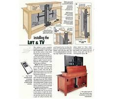 Outdoor tv lift cabinet Plan