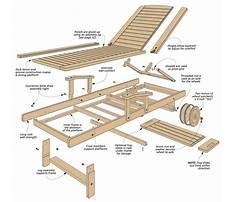 Outdoor wooden deck furniture Plan