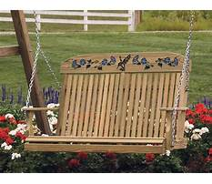 Outdoor wooden swing ohio Plan
