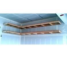 Overhead garage storage plans free Plan