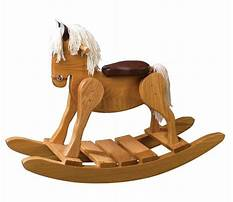 Padded rocking toys for babies Plan