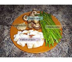 Paleo zone diet recipes Plan