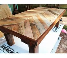 Pallet furniture plans coffee table Plan