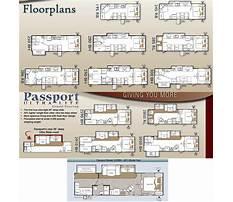 Passport travel trailer floor plans Plan
