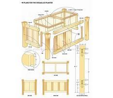 Patio garden planter design Plan