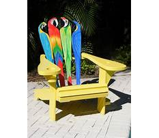 Patterns for painting adirondack chairs Plan