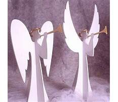 Patterns for wooden angels Plan