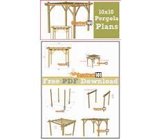 Pergola plans pdf Plan