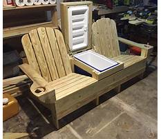 Picnic table with cooler plans.aspx Plan