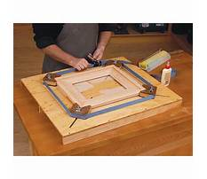 Picture frame jigs Plan