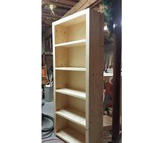 Pine bookshelf plans Plan