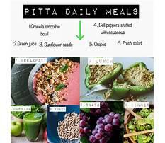 Pitta diet recipes Plan