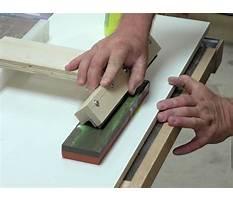 Planer knife sharpening jig.aspx Plan