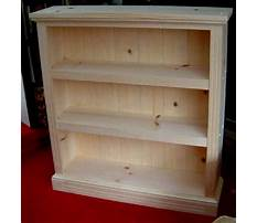 Plans for a small bookcase Plan