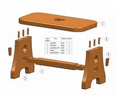 Plans for a step stool Plan