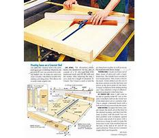 Plans for a table saw sled Plan