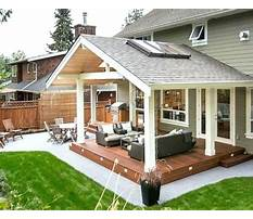 Plans for back porch construction Plan