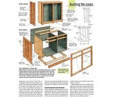 Plans for base kitchen cabinets Plan
