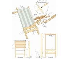 Plans for beach chair Plan