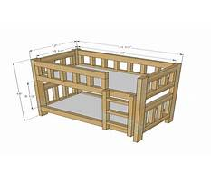 Plans for building a doll bed Plan