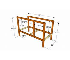 Plans for building a hutch Plan