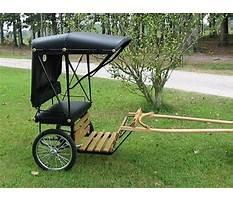 Plans for building a miniature horse cart Plan