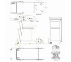 Plans for building a welding cart Plan