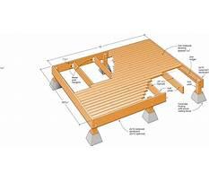 Plans for building deck Plan
