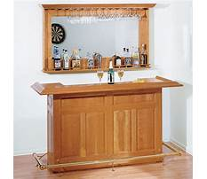 Plans for home bar Plan
