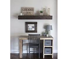 Plans for home office shelving Plan