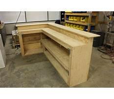 Plans for homemade bar Plan